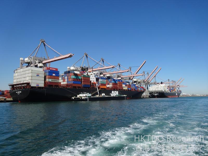 Photo: San Pedro seaports