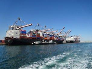 Photo: San Pedro Bay seaports