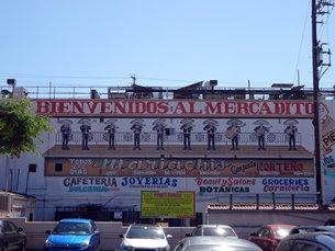 相片:洛杉磯當地的墨西哥市場