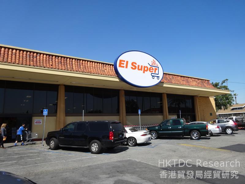 相片:洛杉磯一家受歡迎的墨西哥超市。