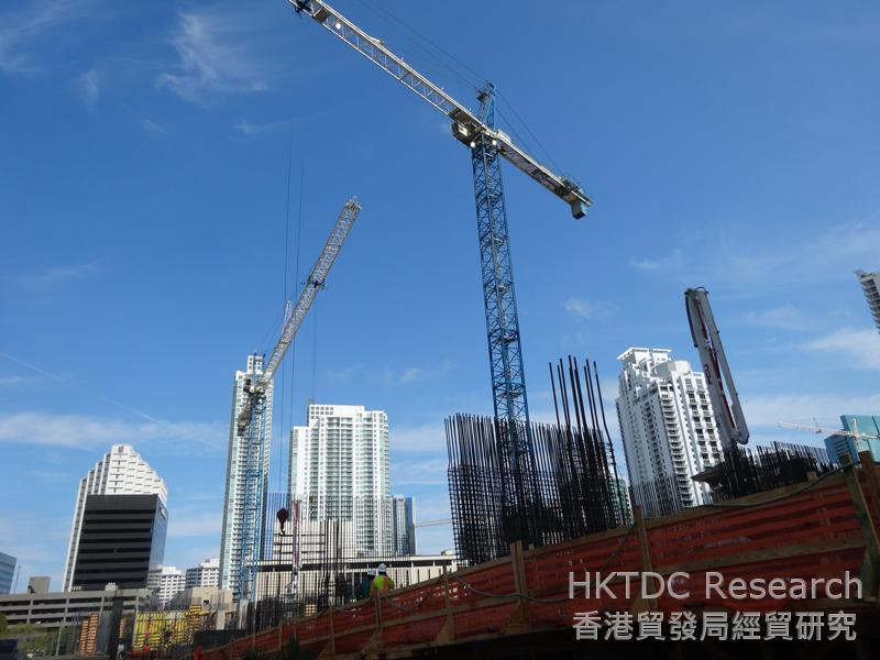 相片:拉美资金不断涌入迈阿密,推高市场对豪华公寓、高档市区住宅和商业空间的需求。
