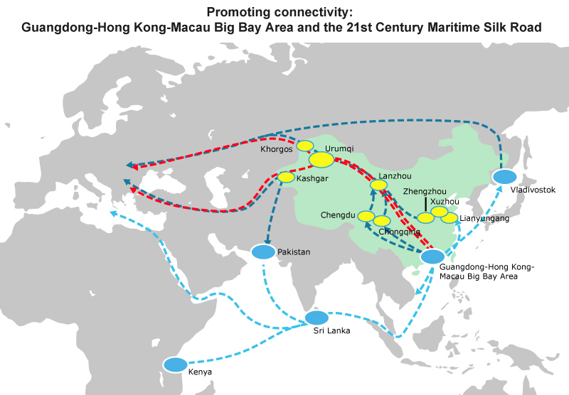 Map: Promoting connectivity