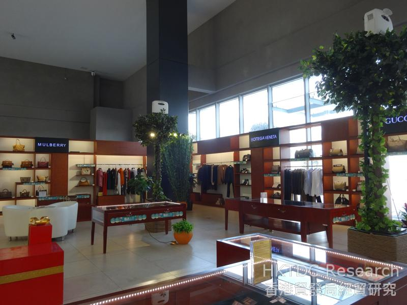 Photo:The 'Century Show' Experience Store at Chongqing Bonded Commodity Exhibition & Trading Centre.