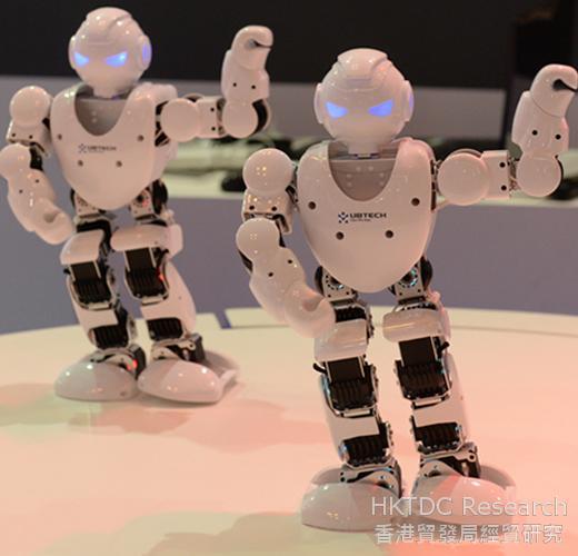 相片:智能產品及可穿戴式電子產品將帶動市場需求。(1)