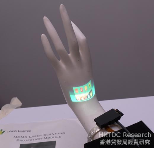 相片:智能產品及可穿戴式電子產品將帶動市場需求。(2)