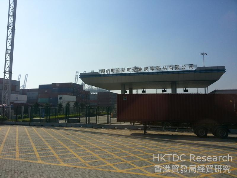 相片:厦门海沧码头