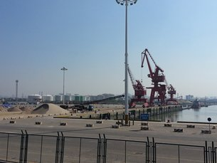 相片:「福建自贸区」厦门片区的码头设施