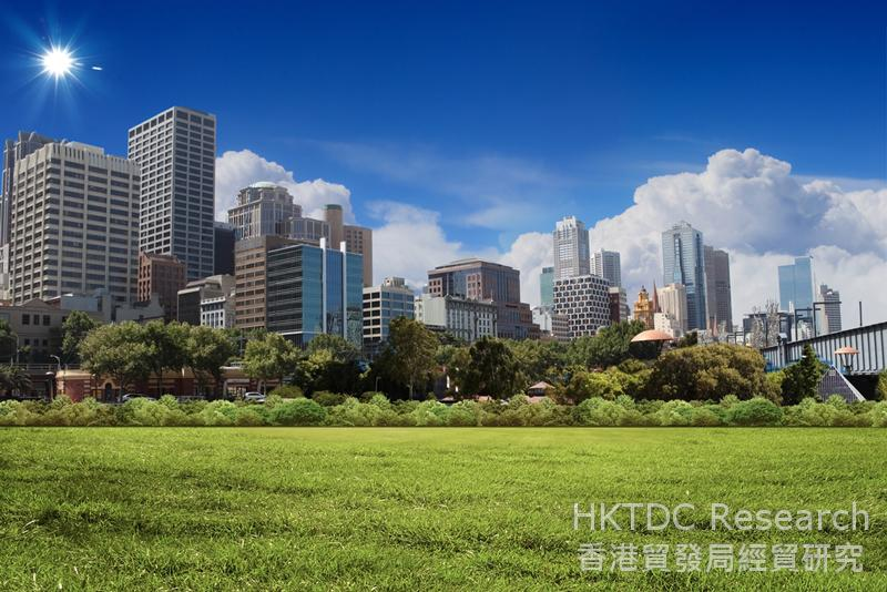 Photo: New-style urbanisation in full swing