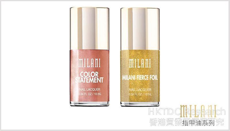 相片:智信天下代理的美国化妆品品牌Milani