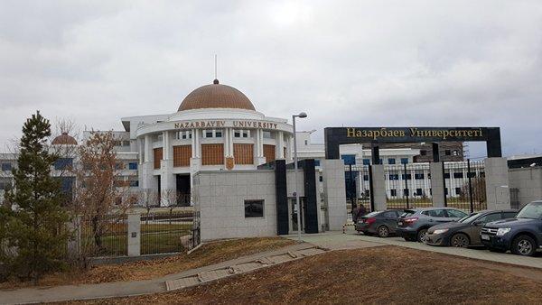相片:位于阿斯塔纳的纳扎尔巴耶夫大学是2013年9月国家主席习近平首次提出「一带一路」构想的地方。