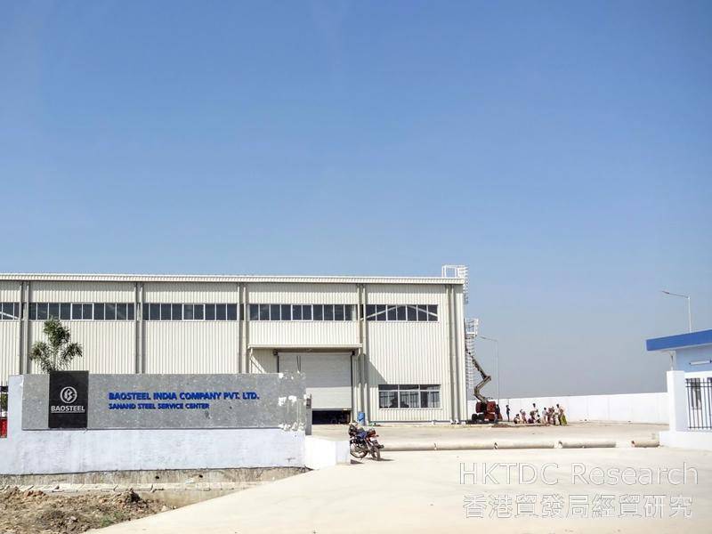 Photo: Baosteel's production facilities in SIE II