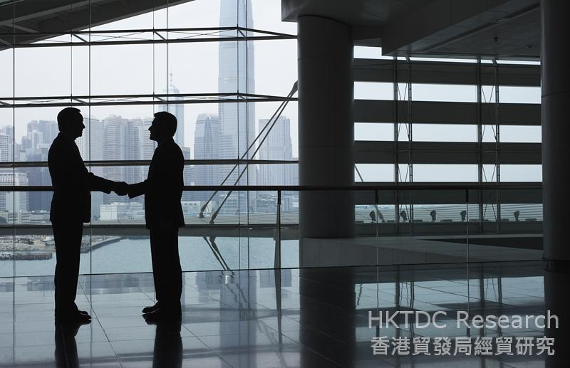 相片:香港可满足内地科创企业的各种服务需求。