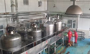 Photo: Production line of Tsinfood in the Export Processing Zone