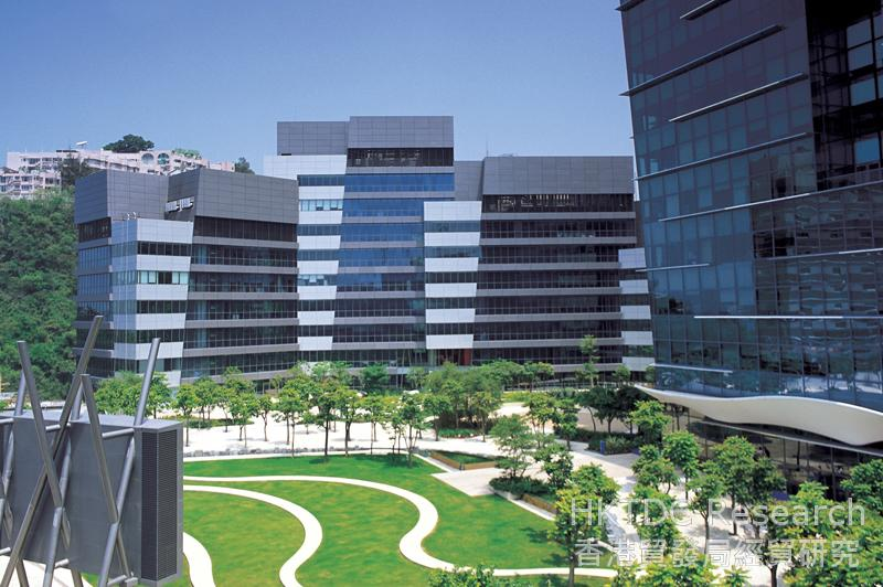 Photo: Cyberport premises in Hong Kong. (Images courtesy of Cyberport)