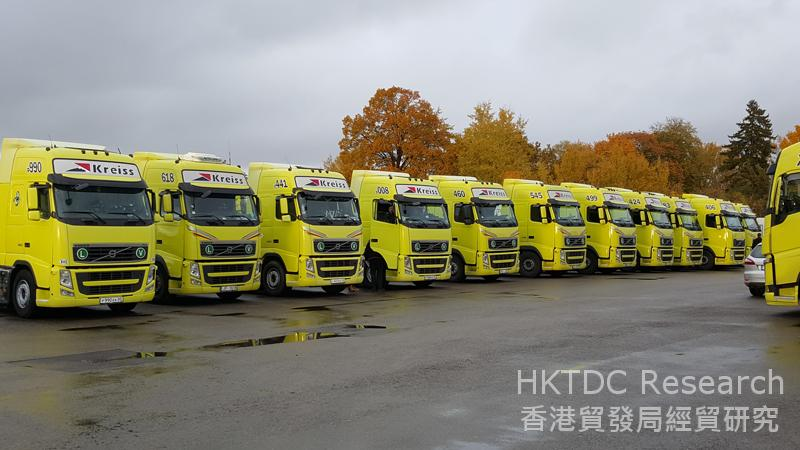 相片:Kreiss International Frigo Transportation