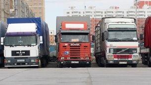 Photo: Trucks from Kazakhstan