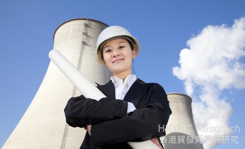 相片:中國會進一步加強實施節能減排政策。