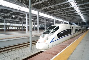 Photo: China is accelerating its construction of modern transport networks.