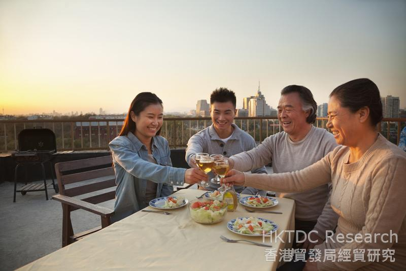 Photo: Chinese people's living standards are on the rise.