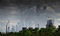 相片:中國累積嚴重的污染問題
