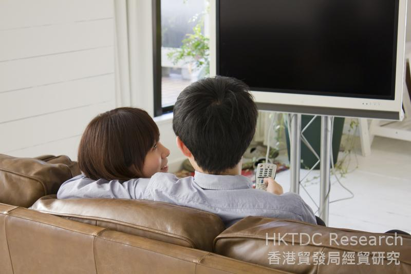 相片:电视媒体业绩仍大致保持平稳。