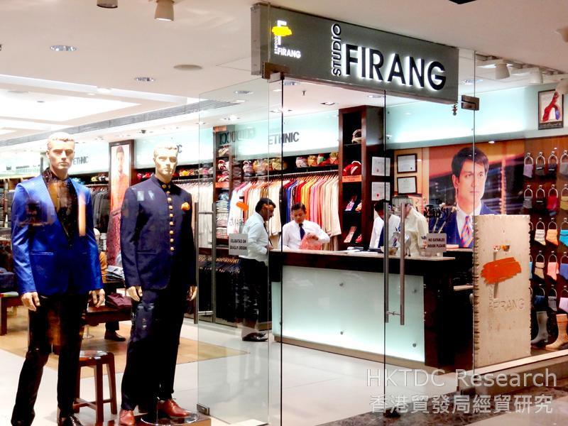 Photo: Tailor-made clothing is popular in India