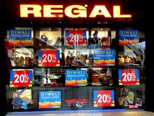 图: 排灯节期间商店推出的特别优惠