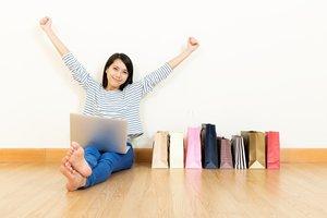 相片:網上購物活動迅速擴張。