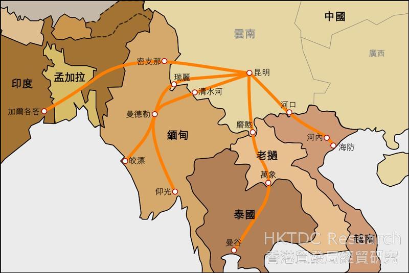 缅甸云南交界地图
