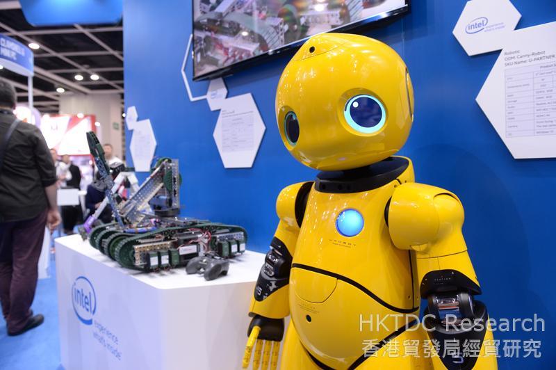 相片:智能科技是电子产品业的增长重点。