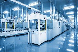 相片:「工業4.0」提議發展「智能工廠」。