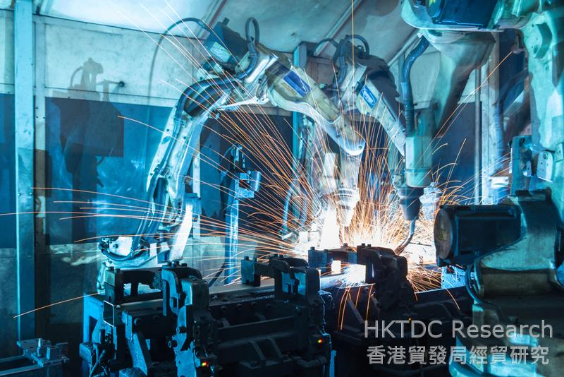Photo: China is the world's largest market for industrial robots.