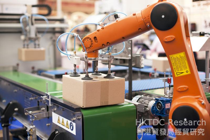 Photo: China is eager to boost the development of its robotics industry.
