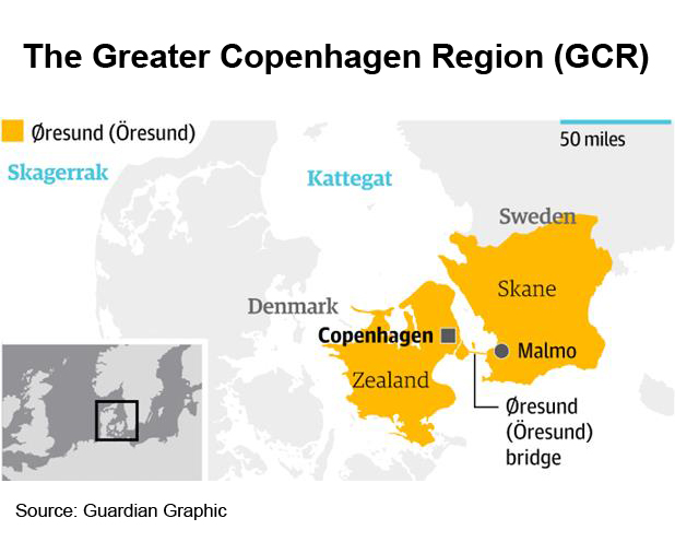 Picture: The Greater Copenhagen Region (GCR)