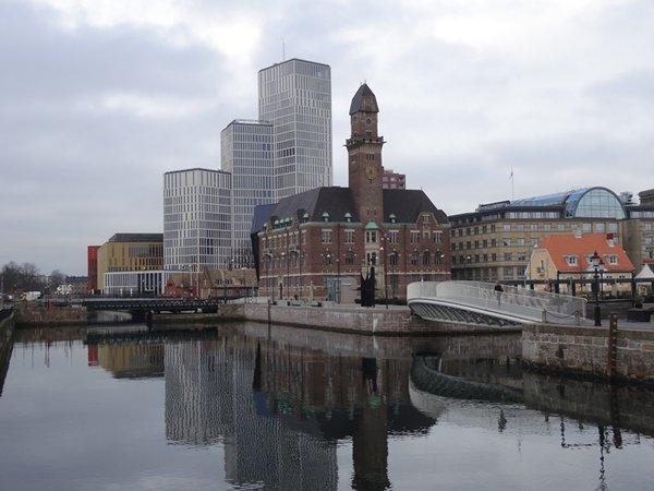 相片:马尔默被视为北欧地区的洁净技术重镇。