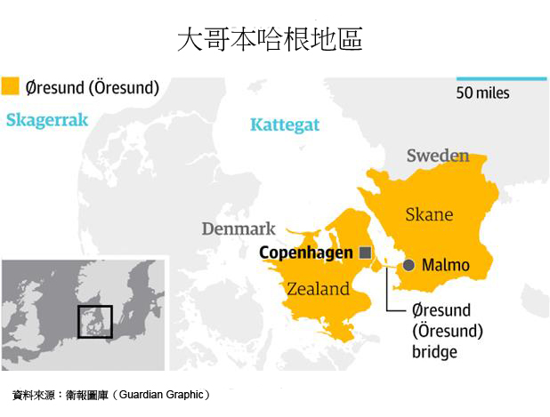 图:大哥本哈根地区