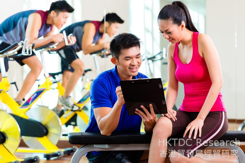 Photo: Fitness services show sustained growth.