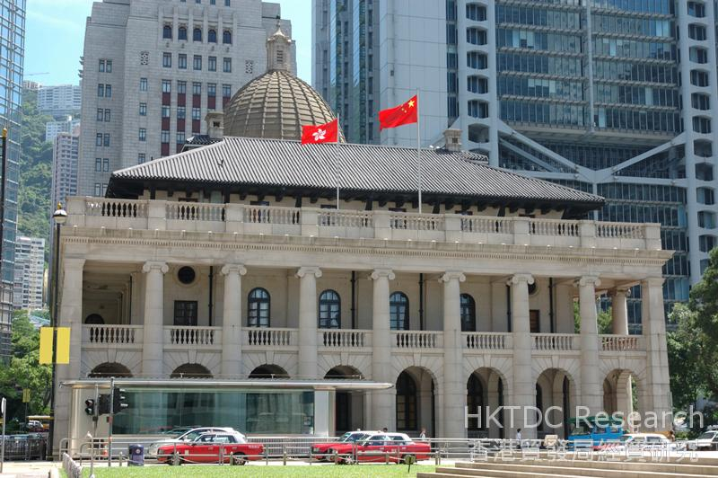 Photo: Hong Kong's professional services can assist Chinese mainland companies to devise Belt and
