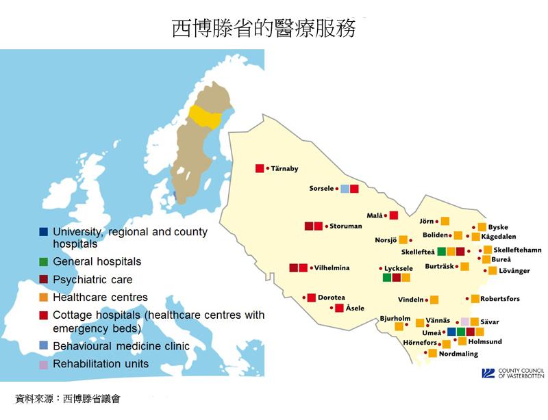 圖片:西博滕省的醫療服務