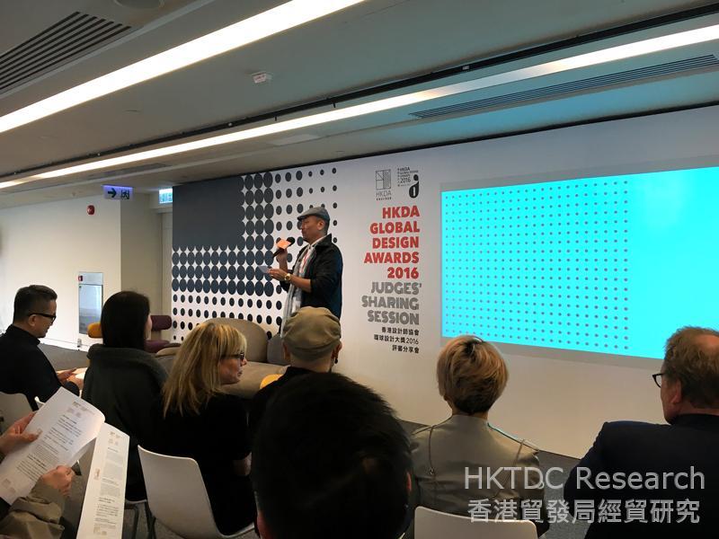 相片:劉志海先生指出內地及新興市場消費者對各類消費品及服務需求日增。