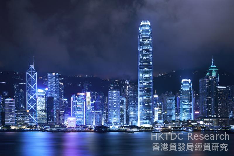 相片:不少中國內地企業選擇香港作為他們對外投資的主要通道。