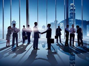 相片:香港是內地企業「走出去」的首選服務平台。