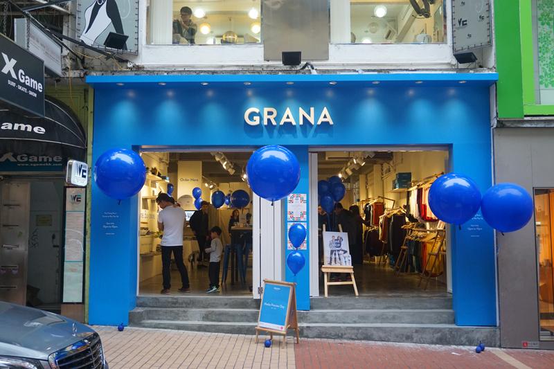 Photo: Grana pop-up store in Causeway Bay.
