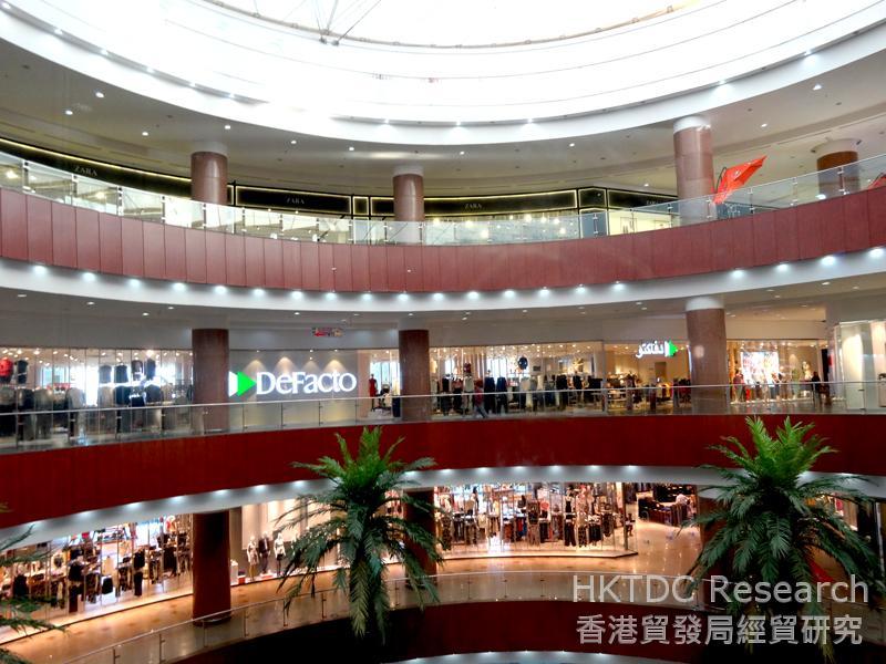 圖: 位於設拉子的現代化購物中心