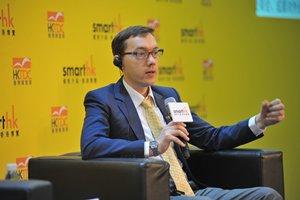 相片:邓亚力先生指出通过联合投资伙伴,中资企业可将其业务进一步扩展。