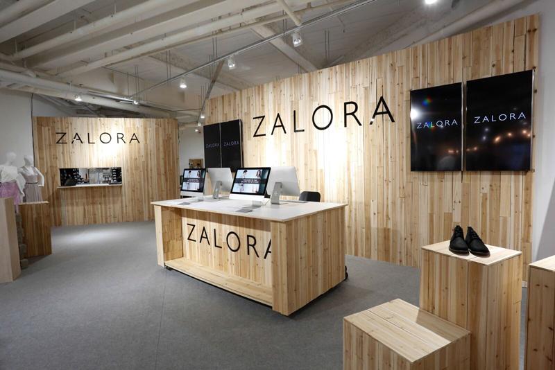 相片:Zalora于铜锣湾开设实体店。