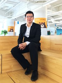 Photo: Tim Lee, founder and CEO of QFPay Near, a mobile payment solution provider in China.