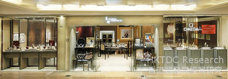 Photo: Global Timepieces at Harbour City, Tsimshatsui.