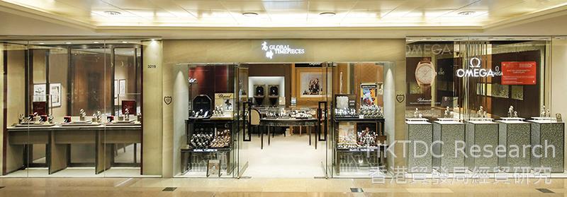 相片: 高時錶行位於尖沙咀海港城的店舖。