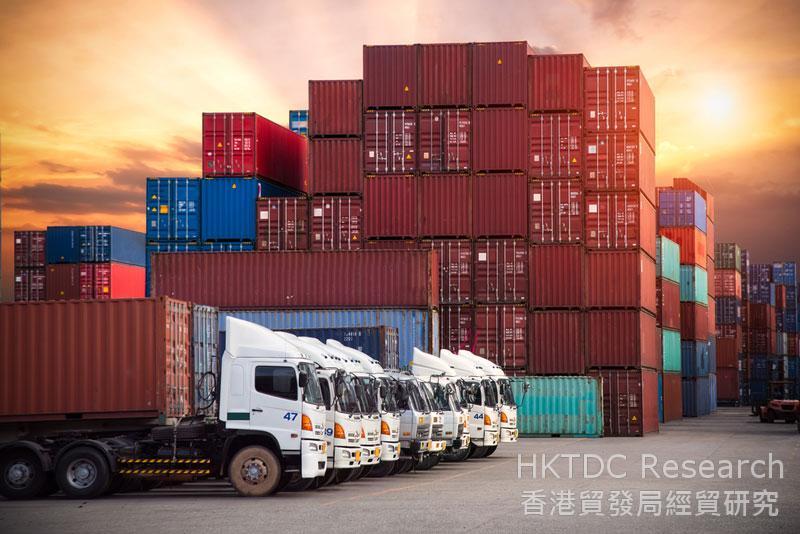 相片:香港物流業者應用新一代的信息技術提升營運效率和質量。